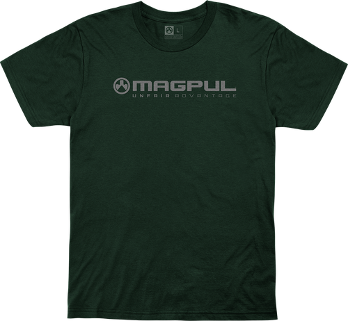 Magpul Fine Cotton Unfair Advantage Shirt Large Forest Green