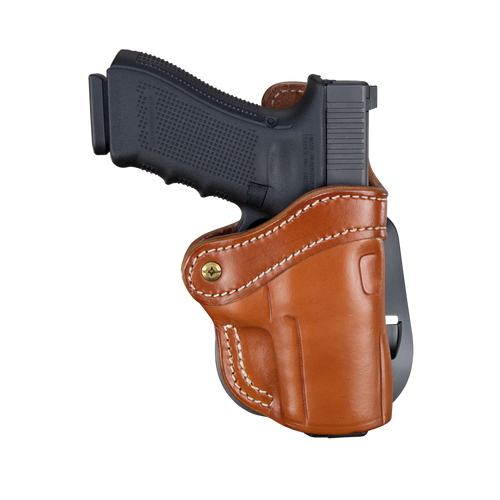 1791 Gunleather PDH 2.4S Classic Brown Leather Outside Waistband Springfield XD-M Compact/Walther PPQ