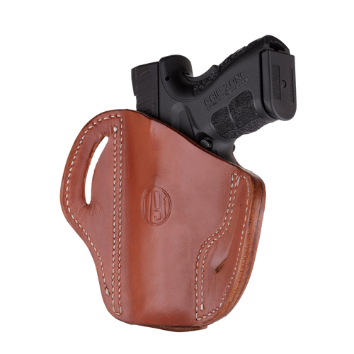 1791, OR, Optics Ready Belt Holster, Size 2.4S, Right Hand, Classic Brown, Leather