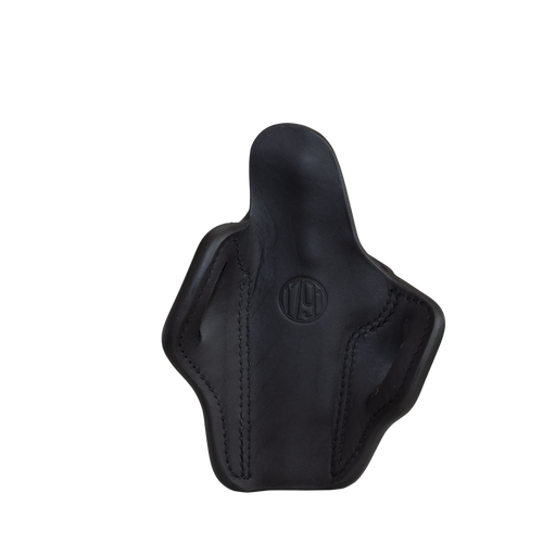 """1791 Optic Ready, Belt Holster, Stealth Black Leather, Fits 1911 4"""" & 5"""""""