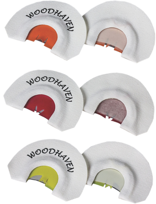 Woodhaven TKM 3 Pack Red Wasp, Copperhead, Copperhead II Turkey Three Reed