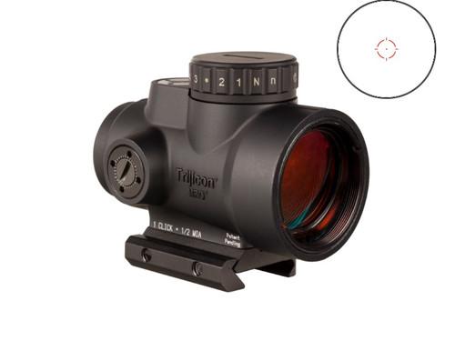 Trijicon MRO HD 2.0 1x 25mm 2 MOA Illuminated 68 MOA Red/Green Dot Matte Black Low Mount