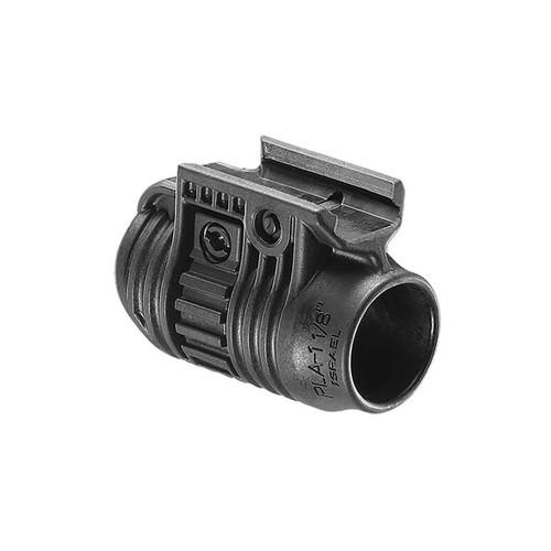 "FAB Defense FAB-Defense Quick Release 3/4"" Tactical Flashlight and Laser Adapter Pla-1 3/4 - Flashlight Picatinny Rail Adapter Black"