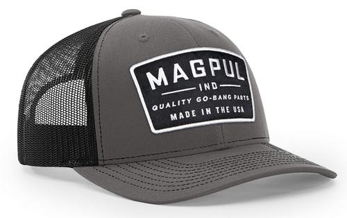 Magpul Go Bang Trucker Hat Charcoal Gray/Black