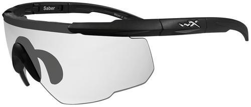 Wiley X Eyewear Saber Advanced Safety Glasses Matte Black/Clear