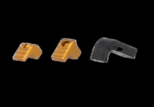 Strike Modular Mag Release for Glock 17-19-x, 22-23, 26-27, 31-35, 37-39, 45 Gen 4-5 Titan