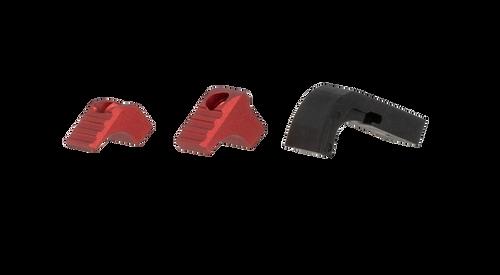 Strike Modular Mag Release for Glock 17, 19-19x, 22-23, 26-27, 31-35, 37-39, 45 Gen 4-5 Red