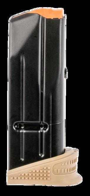 FN 509C 9mm Magazine, Flat Dark Earth Extended Floor Plate, 10rd