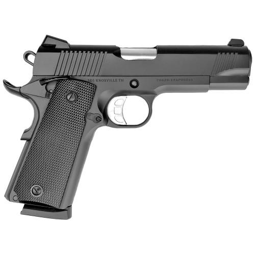 """SDS B45 1911, 45 ACP, 4.25"""" Barrel, Steel Frame, Cerakote Black, Novak Style 3-Dot Sights, 8 Rounds"""