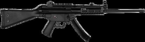 "PTR 9R 9mm 16i"" Rifle M-Lok Handguard, Rail 30rd Mag"