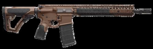 "Daniel Defense M4A1 5.56/223 14.5"" Barrel, Flash Hider (16"" Total) Dark Earth Cerakote California Compliant 10 Rd Mag"