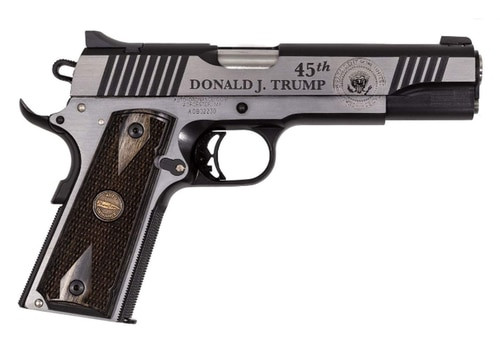 "Auto Ordnance 1911 MAGA Trump 45th President 45 ACP, 5"" Barrel"