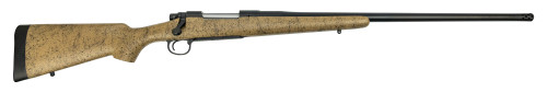 "Remington Custom Shop 700 NA 338 Lapua, 26"" Barrel W/Muzzle Brake, 40X Trigger, Tan Stock W/Black Webbing"