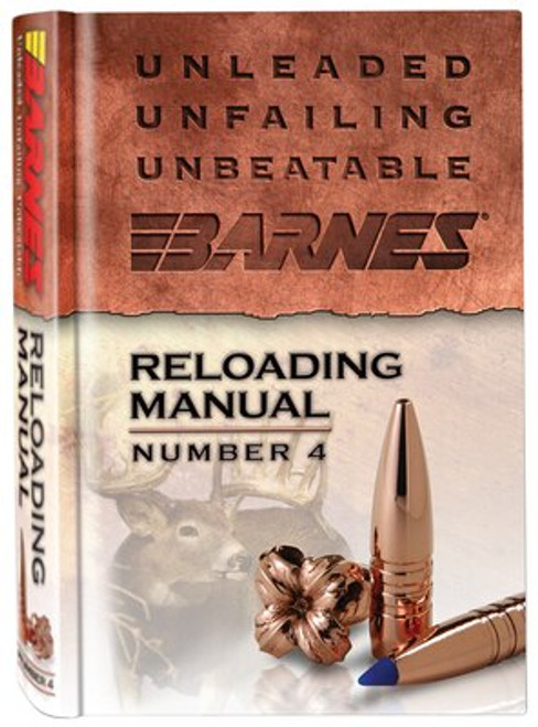 Barnes Reloading Manual Number 4
