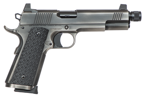 """Dan Wesson Wraith, 9mm, 5.75"""",, , Distressed Stainless,  10 rd"""