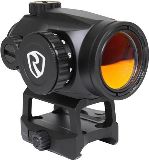 Riton Optics, X3 TACTIX, Red Dot, 1X25mm, 2MOA Red Dot, Black Color, Lower 1/3 QD Mount