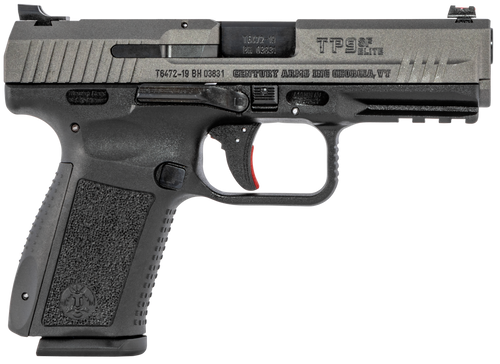 "Canik TP9SF Elite, 9mm, 4.19"" Match Bbl,Tungsten Finish, 2x15Rnd Mags"