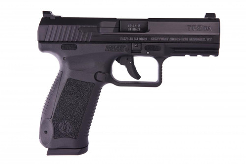 "Canik TP9DA, DA/SA 9mm, 4.07"" Match Barrel, Black, Dovetail Sights, 2x18Rnd Mags"