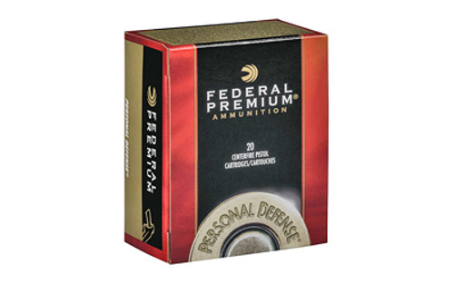 Federal Premium Punch 9mm 124gr, Jacketed Hollow Point, 20rd Box