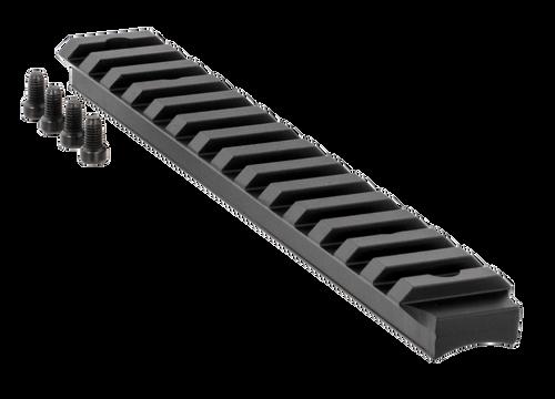 Ruger American Rifle Base Long Action Picatinny Aluminum Black Hard Coat Anodized