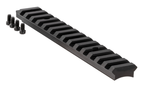 Ruger American Rifle Base Short Action Picatinny Aluminum Black Hard Coat Anodized