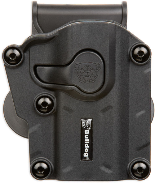 Bulldog Cases, Max Multi-Fit Polymer Holster  Paddle, Right Hand, Black