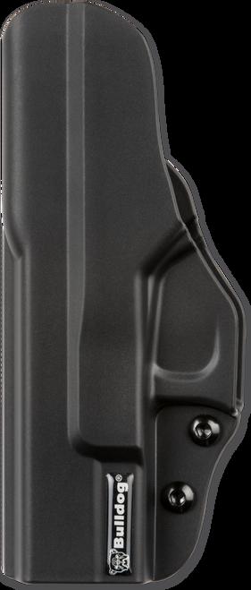Bulldog Inside The Pants Black Polymer, Glock 26,27,33 Gen 1-5, Right Hand