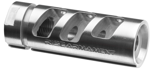"Rise Armament RA-701 223 Rem/5.56 NATO Compensator 1/2""-28 tpi Stainless Steel"