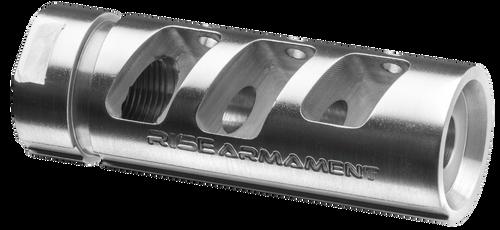 "Rise Armament RA-701 308 Win/7.62 NATO Compensator 5/8""-24 tpi Stainless Steel"