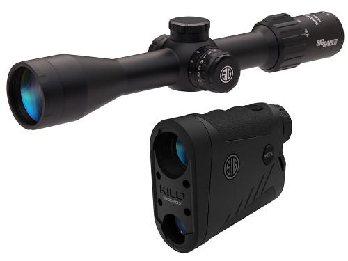 Sig BDX 2.0 Combo Kit, Kilo1800 6x22mm LRF & Sierra3 4.5-14x50mm Scope