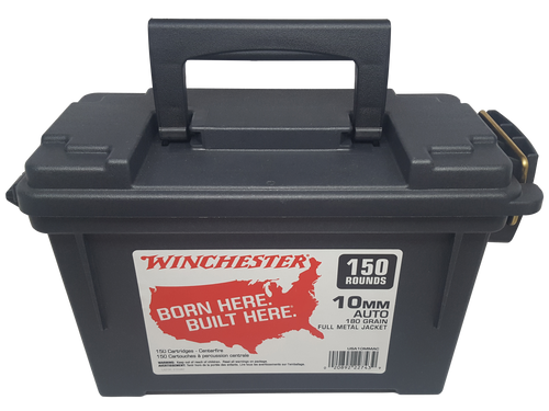 Winchester USA 10mm Auto 180gr, Full Metal Jacket 150rd Box