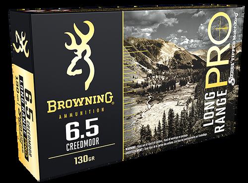 Browning Long Range Pro 6.5 Creedmoor 130gr, Sierra MatchKing BTPT, 20rd Box