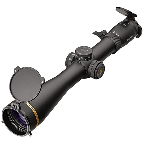 Leupold VX-6HD 4-24x 52mm Obj 28.10-4.80 ft @ 100 yds FOV 34mm Tube Black Illuminated FireDot Duplex