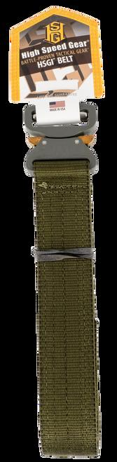 "High Speed Cobra Belt 40""-42"" Cordura Nylon Olive Drab Green Velcro"