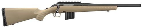 "Ruger American Ranch Rifle 6.5 Grendel, 16.1"" Threaded Barrel, 5/8X24 Threads, Flat Dark Earth Stock, 10rd"