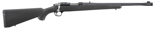 "Ruger 77 44 Magnum, 18.5"" Threaded Barrel, 11/16X24 Threads, Blued Finish, Adjustable Rear Sight, Bead Front Sight, 4rd"