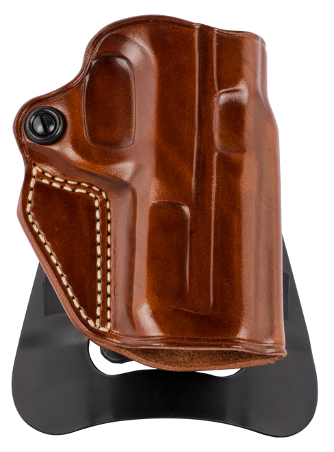 Galco Speed Master 2.0 Tan Steerhide Paddle/Belt S&W M&P 380EZ Shield, Right Hand