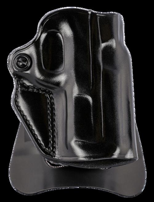 Galco Speed Master 2.0 Black Steerhide Paddle/Belt S&W M&P 380EZ Shield, Right Hand