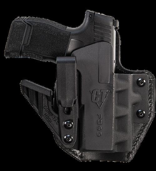 Comp-Tac EV2 Max Inside Waistband Sig Sauer P365 XL, Black Kydex, Leather, Right Hand