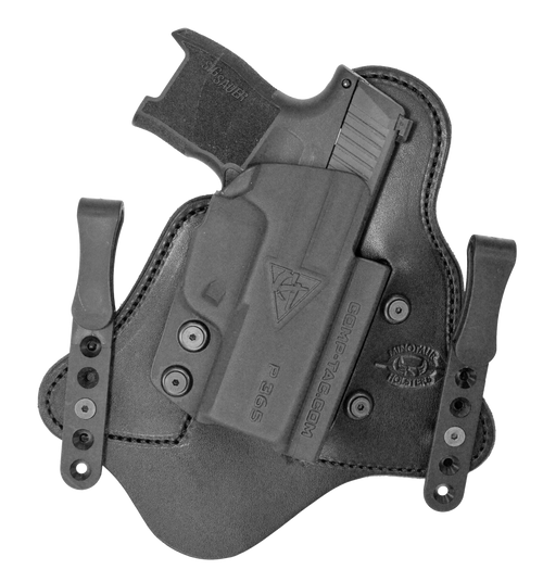 Comp-Tac MTAC Inside Waistband Sig Sauer P365 XL, Black Kydex/Leather, Right Hand