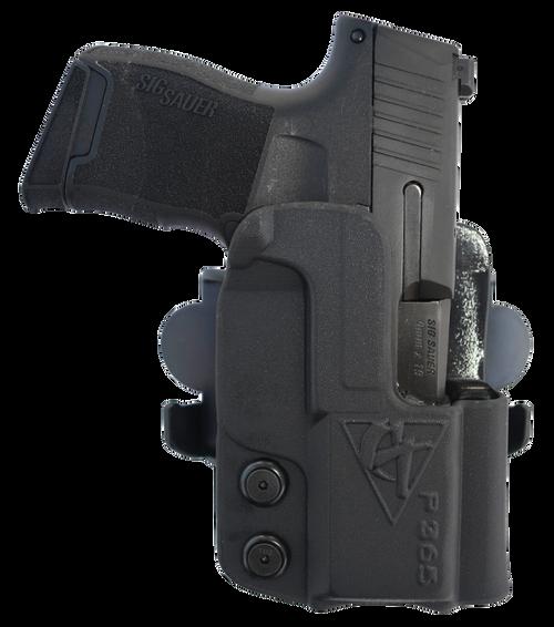 Comp-Tac  Outside Waistband Sig Sauer P365 XL, Black Kydex, Right Hand