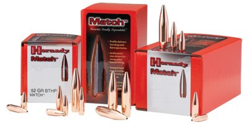 Hornady Hollow Point Bullets 30 Caliber .308 125gr, Hollow Point, 100rd/Box