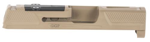 Grey Ghost Precision Sig P365 Version 2 Stripped Slide, FDE, RMS-C/Romeo Zero