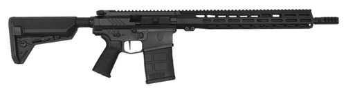 "Grey Ghost Precision, HEAVY .308 MKII, AR, 308 Winchester, 16"" Match Grade Barrel, Superlative Arms Adjustable Gas Block, Timney Single Stage Trigger, 15"" M-Lok Handguard, Black, 20Rd"