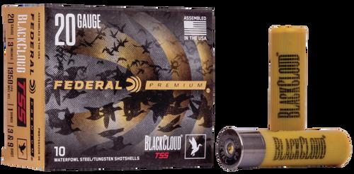 "Federal Black Cloud TSS 20 Ga, 3"", 1oz, 9 Shot, 10rd Box"