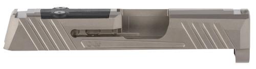 Grey Ghost Precision Sig P365 Version 1 Stripped Slide, Gray DLC, RMS-C/Romeo Zero