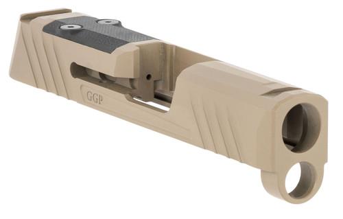 Grey Ghost Precision Sig P365 Version 1 Stripped Slide, FDE, RMS-C/Romeo Zero