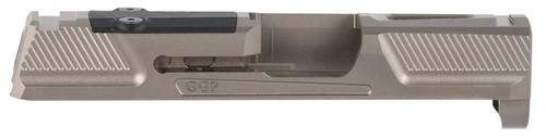 Grey Ghost Precision Sig P365 Version 2 Stripped Slide, Gray, RMS-C/Romeo Zero
