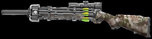 """Traditions Crackshot XBR Package .22 Caliber, 16.50"""" Barrel, 20"""" Fixed Stock, Kryptek Highlander"""