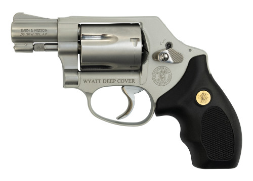 "Smith & Wesson 637 Used .38 Spl, Wyatt Deep Cover/Gunsmoke, 1.87"", SS, 5rd"